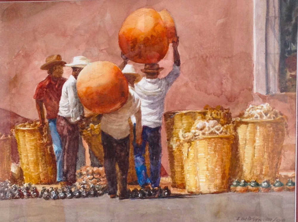 Gaell Lindstrom Big Pots