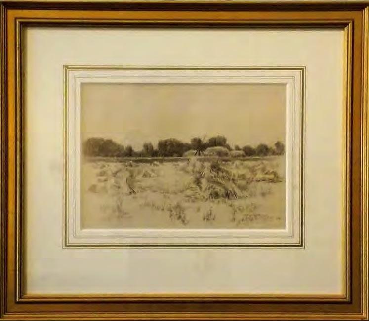 LeConte Stewart - Wheat fields