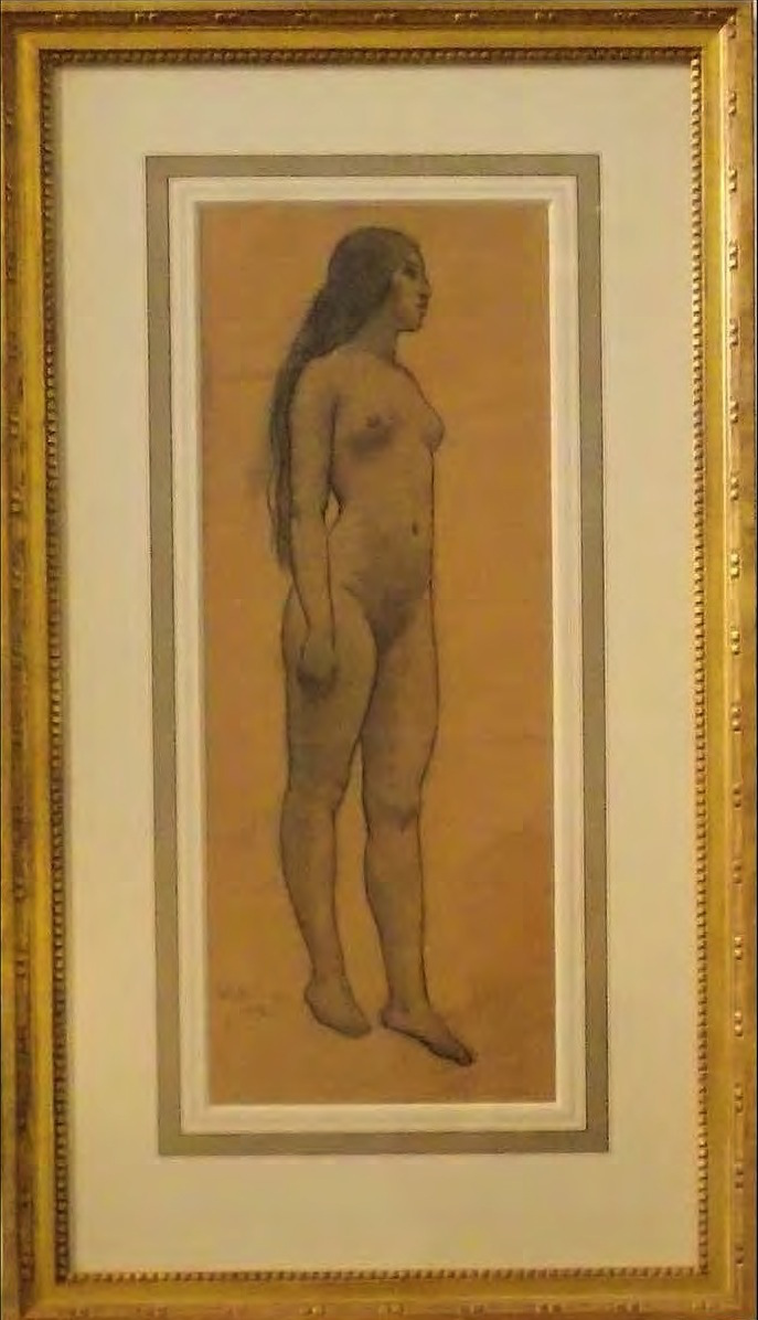 Maynard Dixon - Indian Nude
